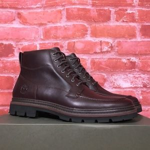 TIMBERLAND MEN'S PORT UNION MOC-TOE WATERPROOF 6""